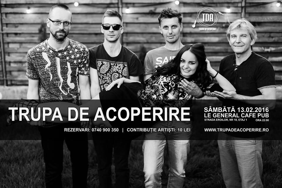Trupa de Acoperire @ Le Général Café-Pub