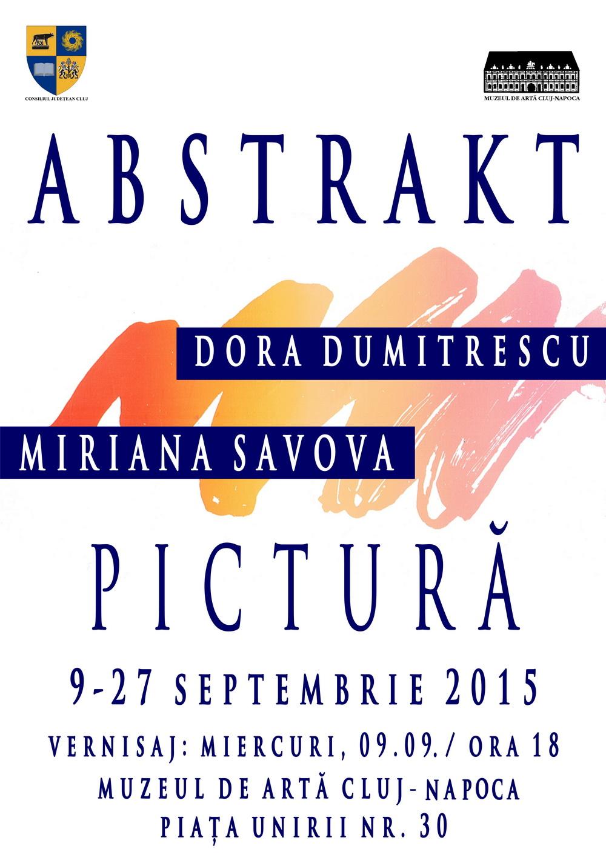 Expoziţia Abstrakt @ Muzeul de Artă