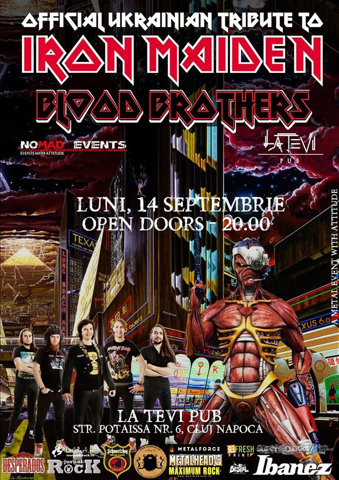 Blood Brothers [Iron Maiden Tribute] @ La Tevi