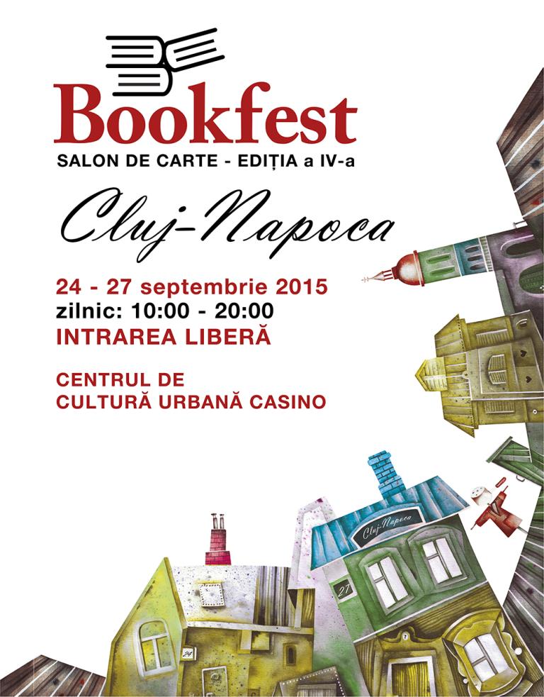 Bookfest 2015 @ Clădirea Casino