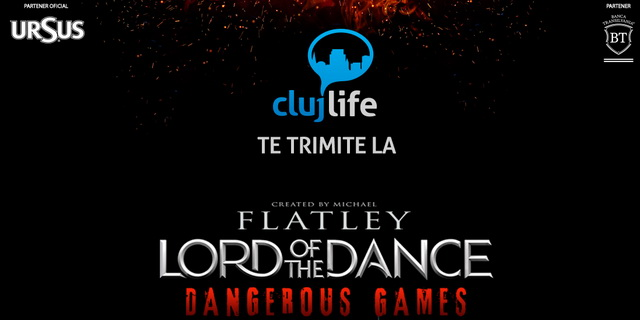 Câștigă o invitație dublă la Lord of the Dance – Dangerous Games
