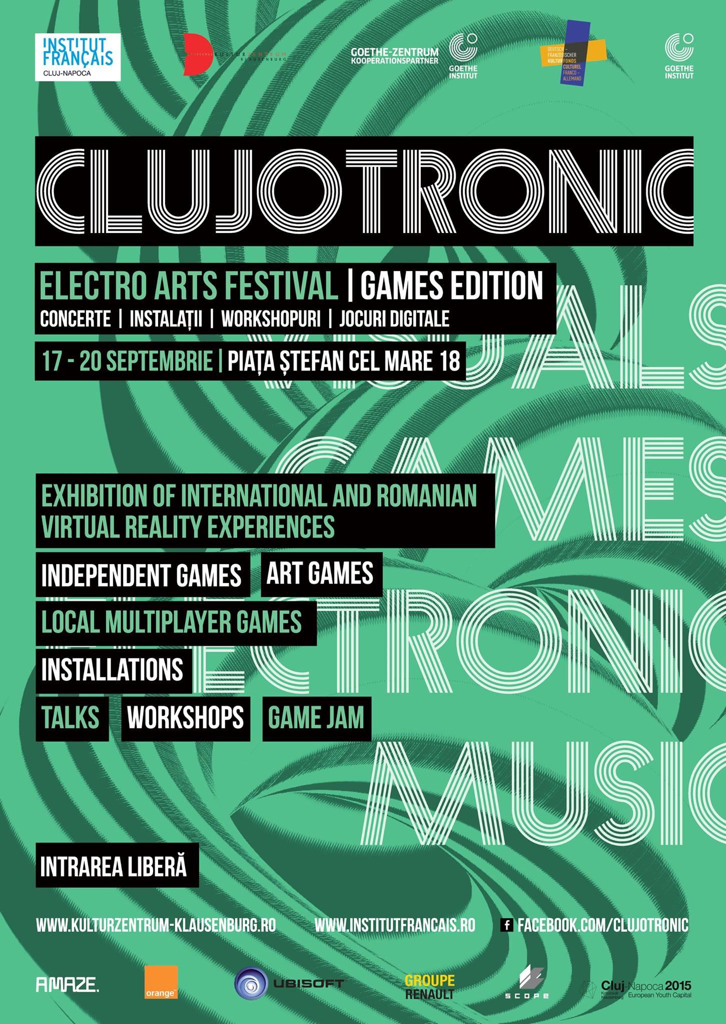 CLUJOTRONIC – Electro Arts Festival 2015
