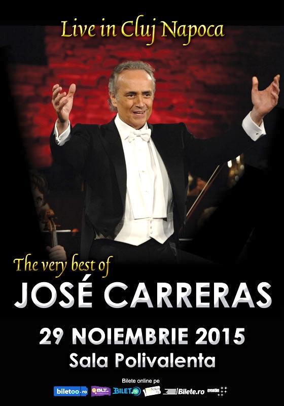 Concert Jose Carreras @ Sala Polivalentă