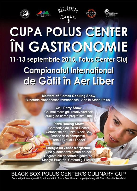 Campionatul Internațional de Gătit în Aer Liber @ Polus Center