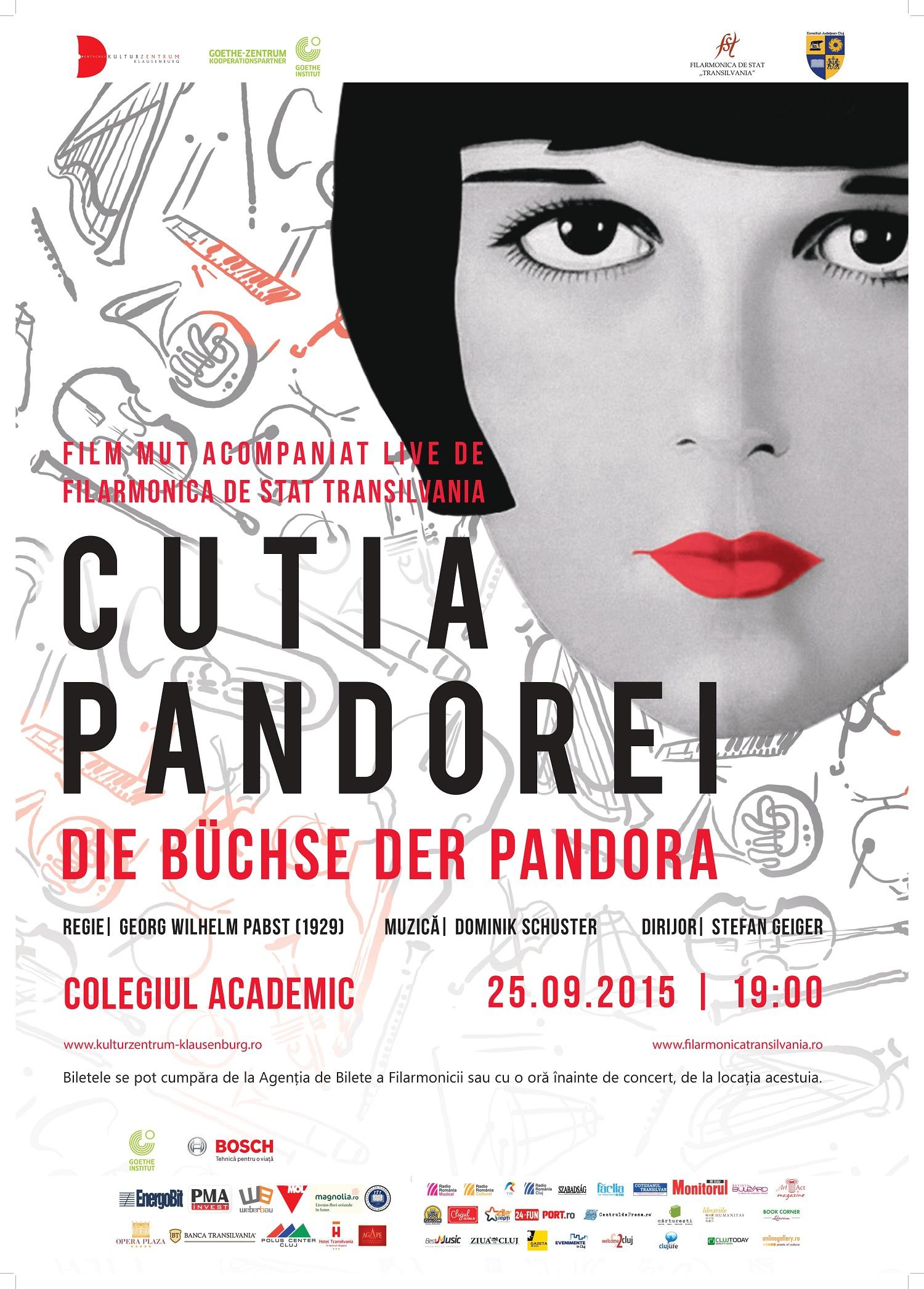 Cine-concert Cutia Pandorei @ Colegiul Academic