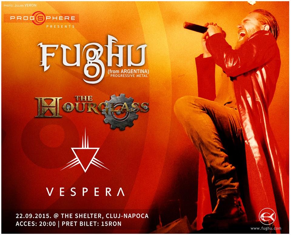Fughu, The Hourglass, Vespera @ The Shelter