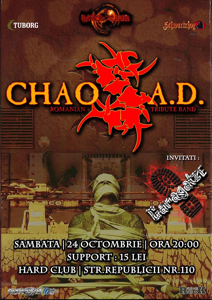 Chaos A.D. – A tribute to Sepultura @ Hard Club