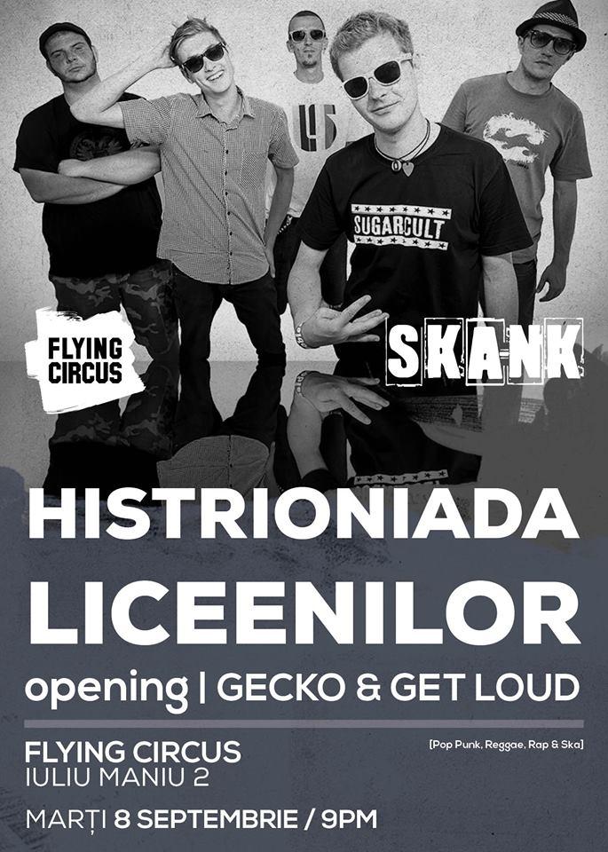 Get Loud, Gecko & Ska-nk @ Flying Circus Pub
