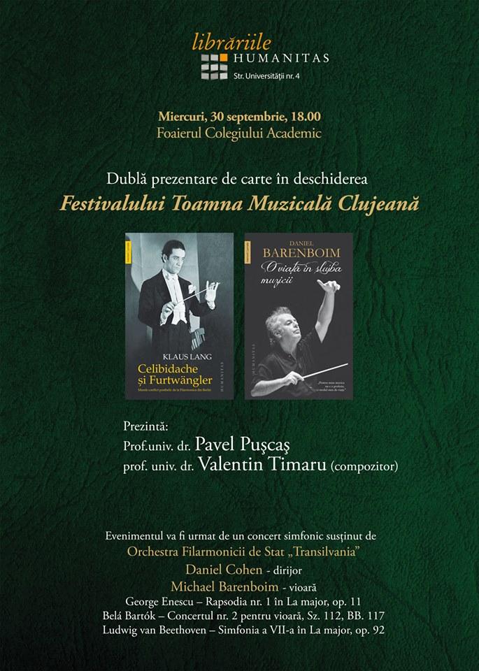 Dublă lansare de carte @ Casa Universitarilor