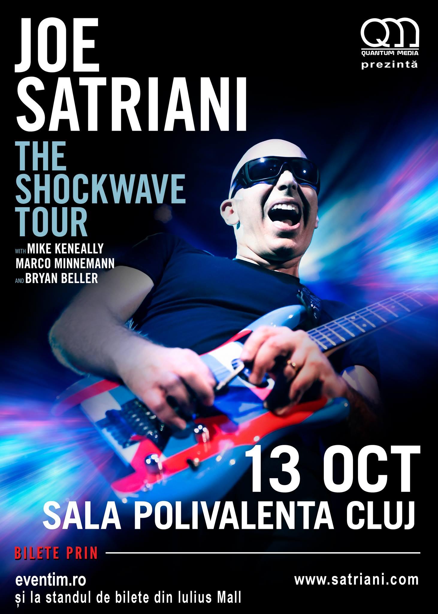 Joe Satriani @ Sala Polivalentă