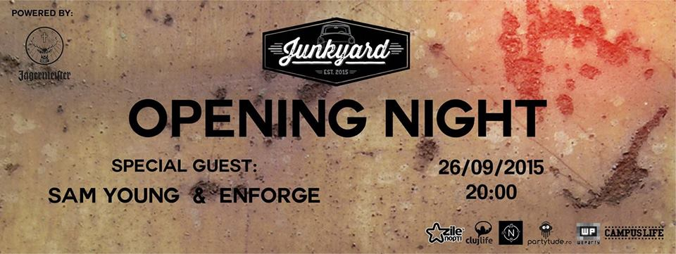 Opening Night @ Junkyard Pub