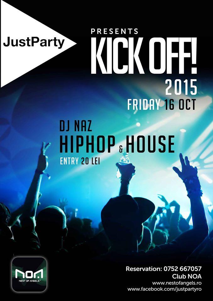 Kick Off Party 2015 @ Club NOA