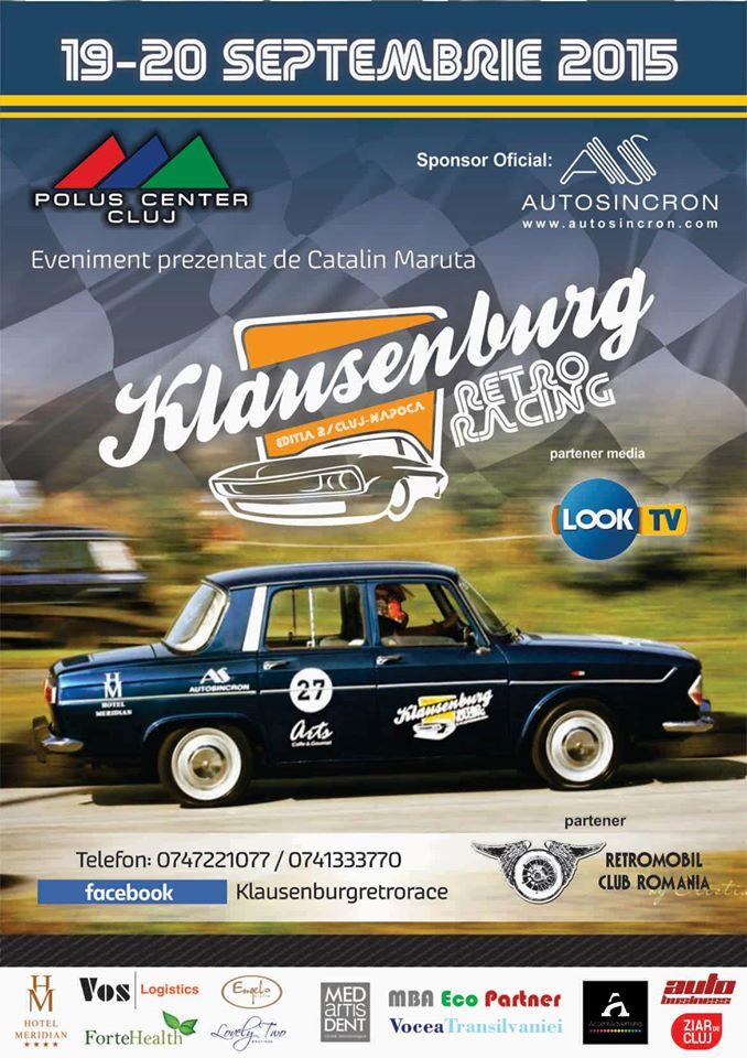 Klausenburg Retro Racing 2015 @ Polus Center