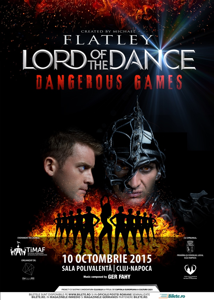 Lord of the Dance – Dangerous Games @ Sala Polivalentă