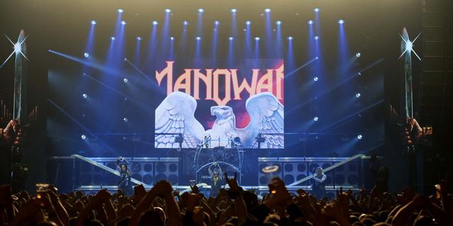 Manowar concertează pentru prima dată la Cluj-Napoca