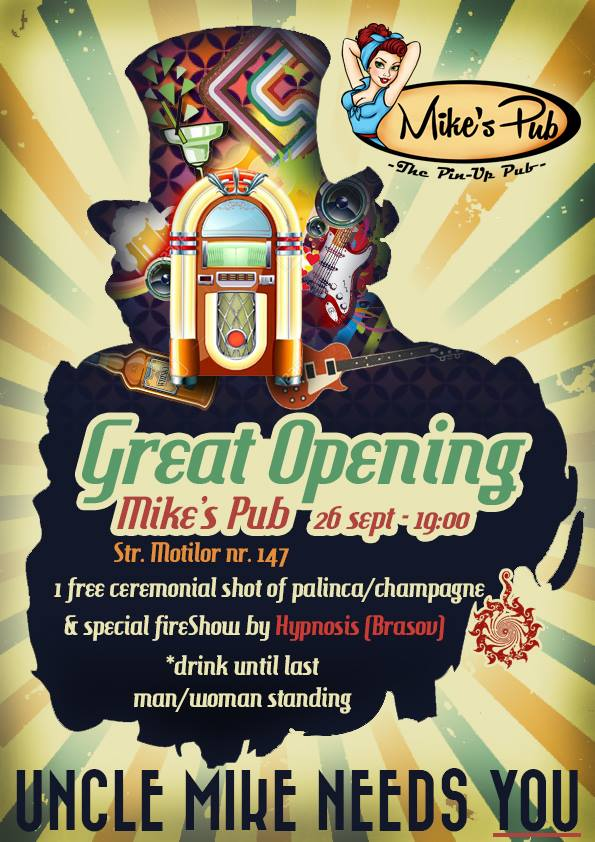 Grand Opening @ Mike's Pub