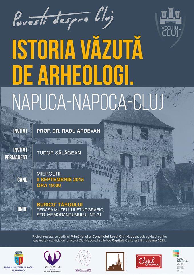 Istoria Clujului văzută de arheologi @ Buricu' Târgului