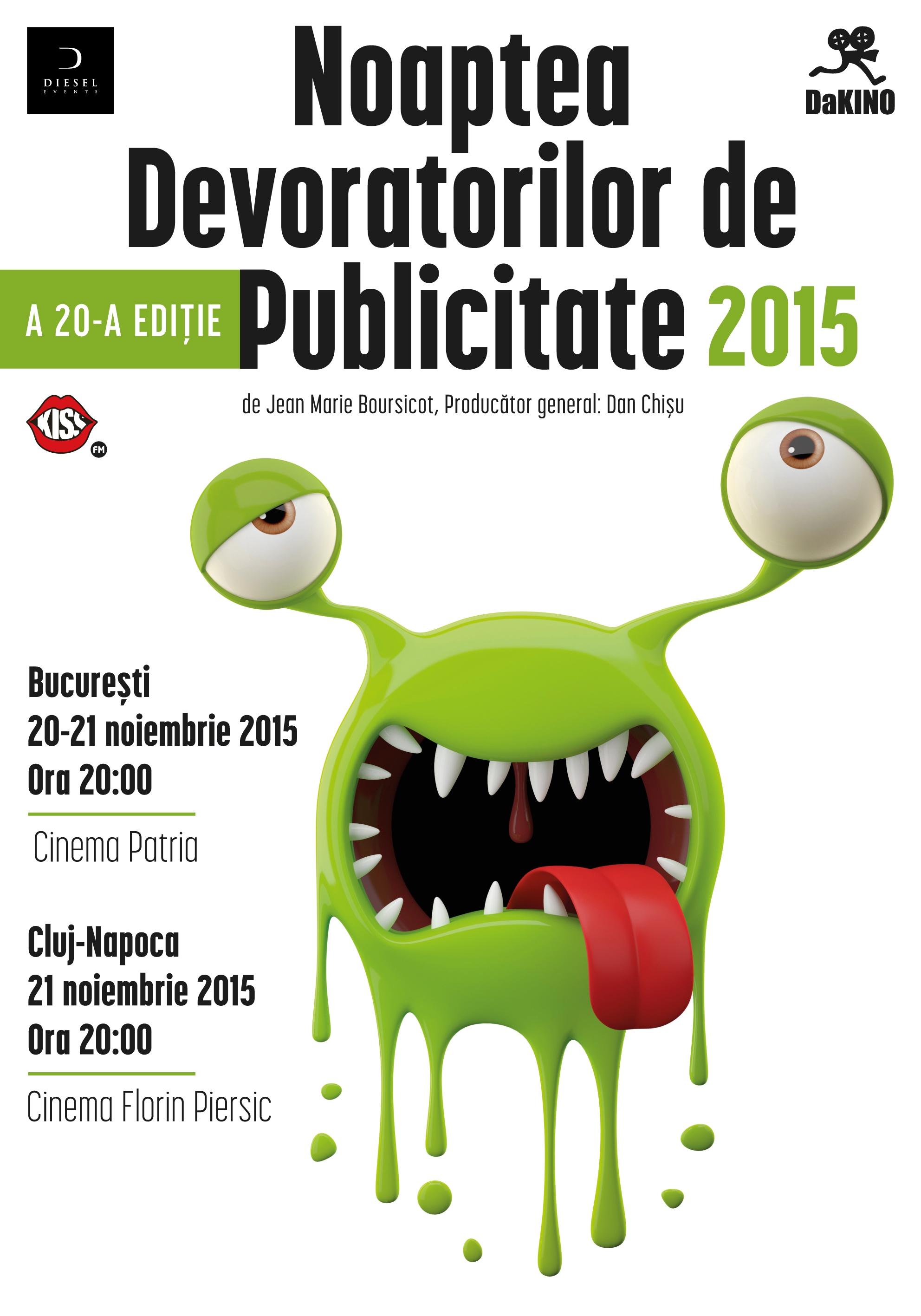 Noaptea Devoratorilor de Publicitate @ Cinema Florin Piersic