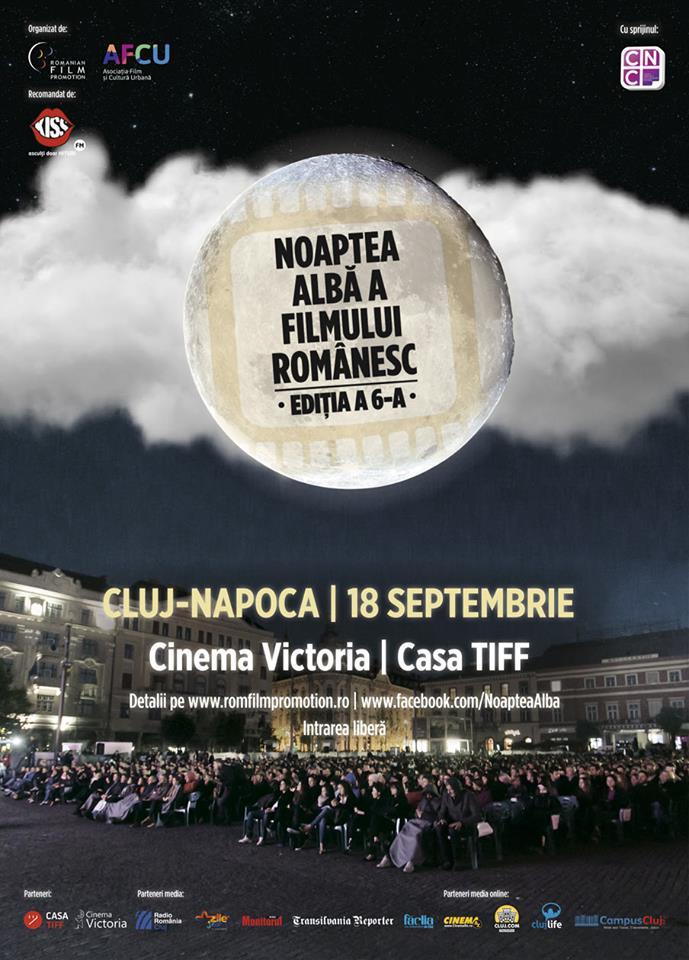 Noaptea Albă a Filmului Românesc la Cluj-Napoca