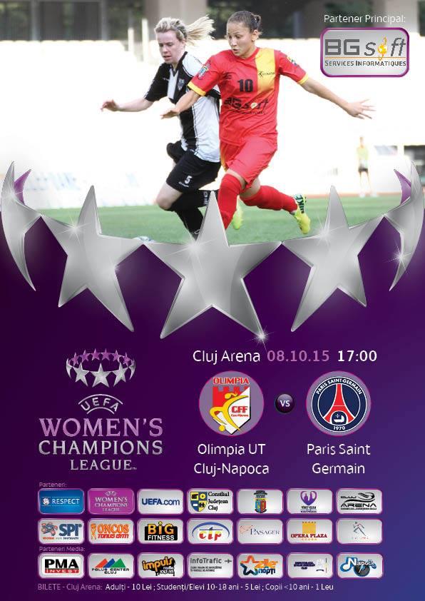 Olimpia UT Cluj-Napoca – Paris Saint Germain