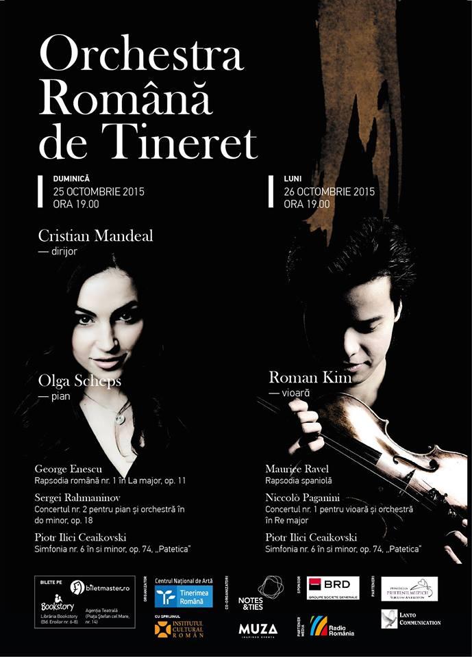 Concert Orchestra Română de Tineret @ Auditorium Maximum