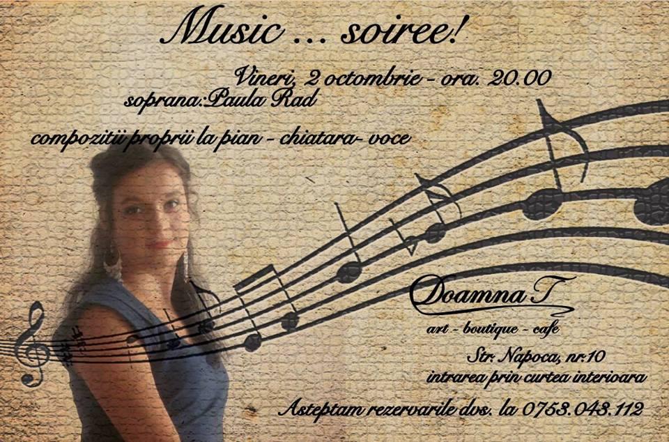 Recital Paula Rad @ Doamna T