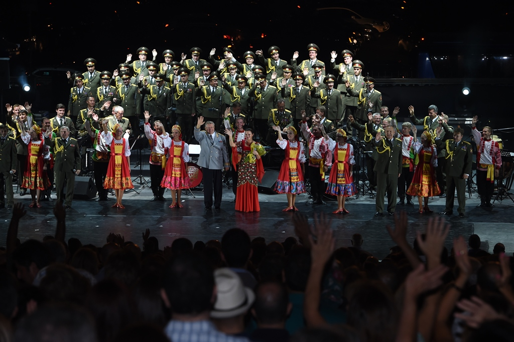The Red Army Choir @ Sala Polivalentă