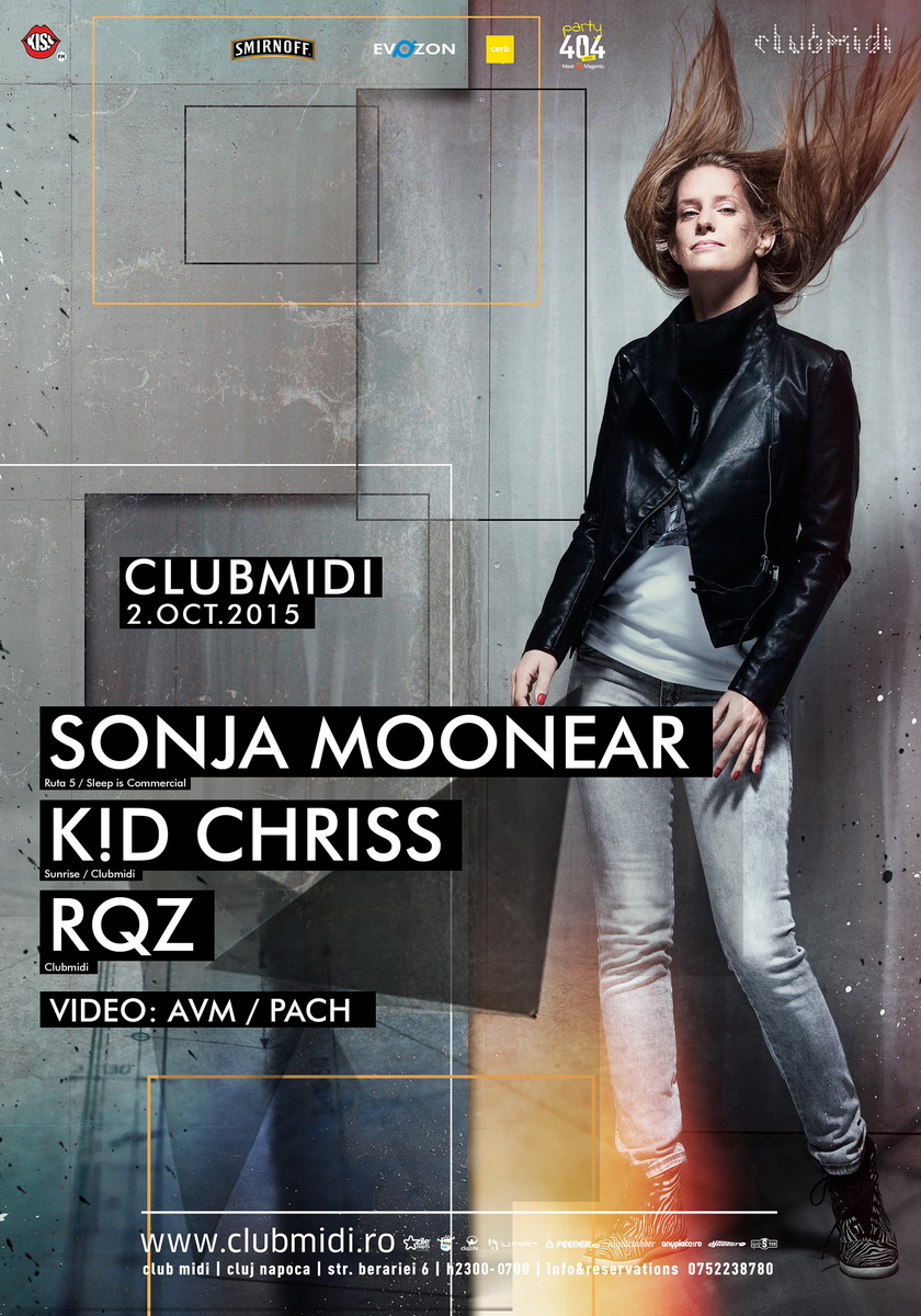 Sonja Moonear / K!D Chriss / RQZ @ Club Midi