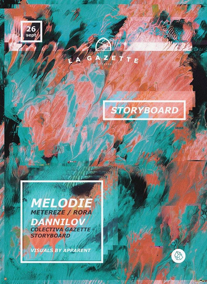 Storyboard   Melodie   Dannilov @ La Gazette
