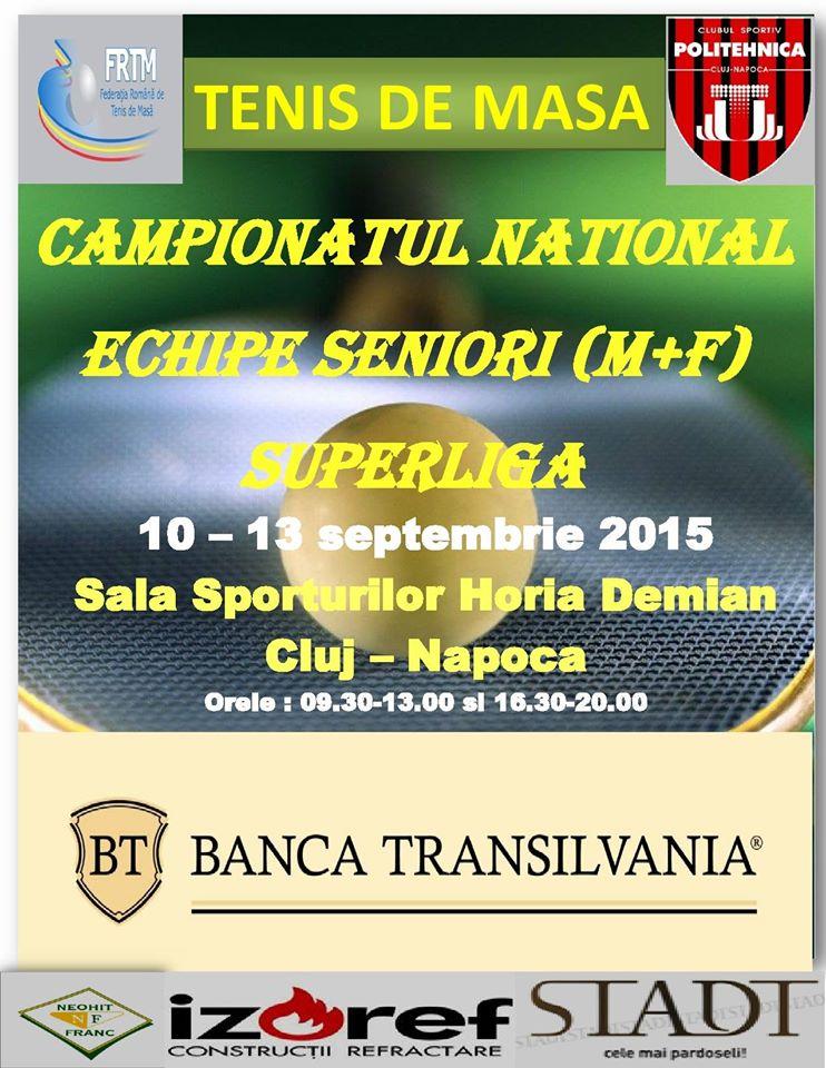 Campionatul Național Superliga – tur @ Sala Sporturilor