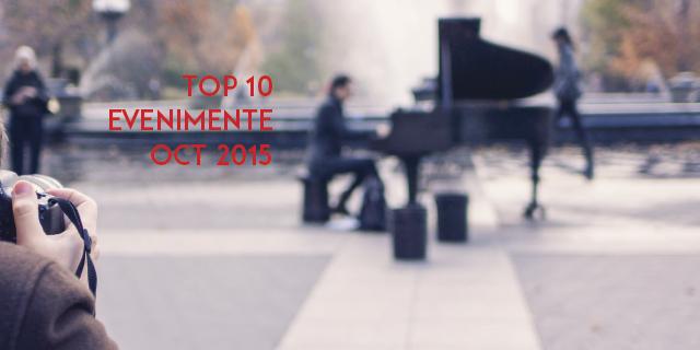 10 evenimente pe care nu trebuie să le ratezi în octombrie