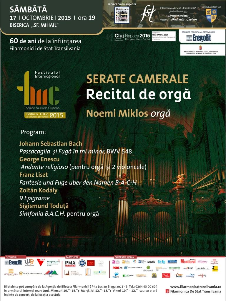 Recital de orgă @ Biserica Sf. Mihail