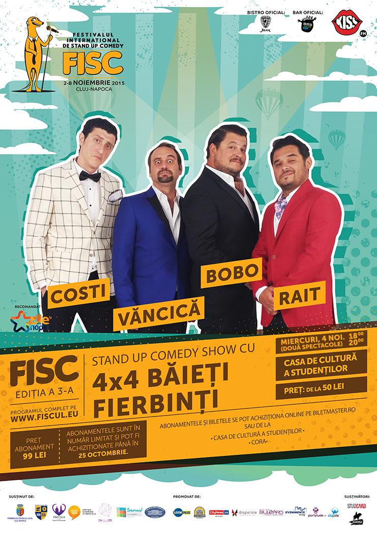 4×4 Băieți Fierbinți @ FISC