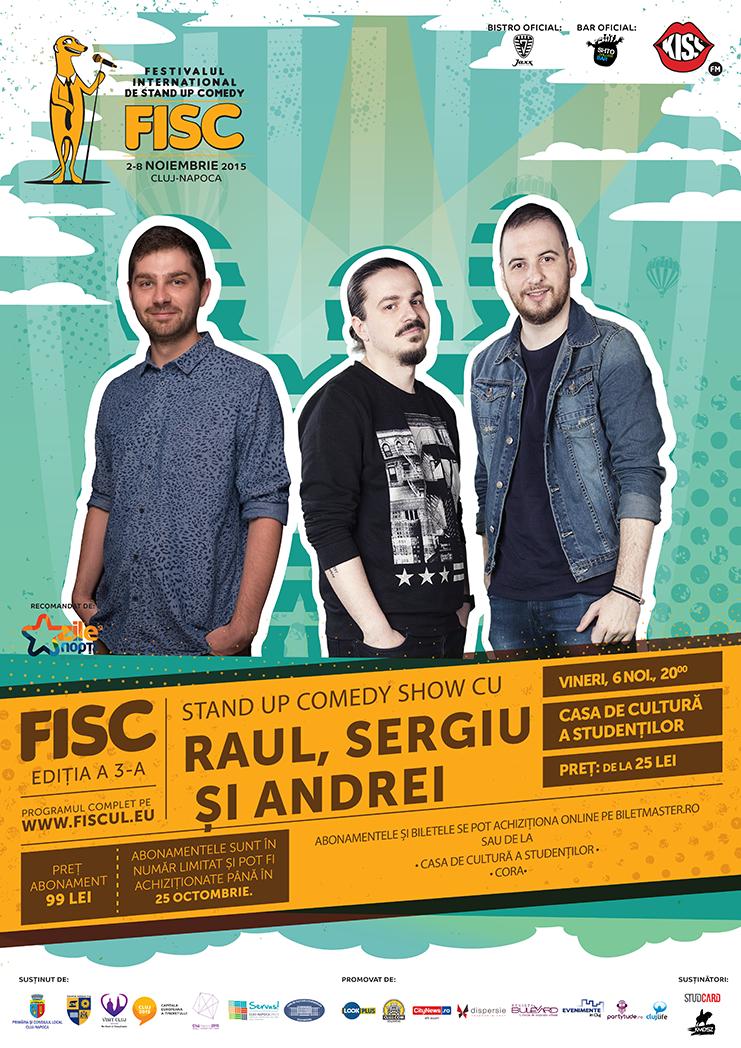 Raul, Sergiu și Andrei @ FISC