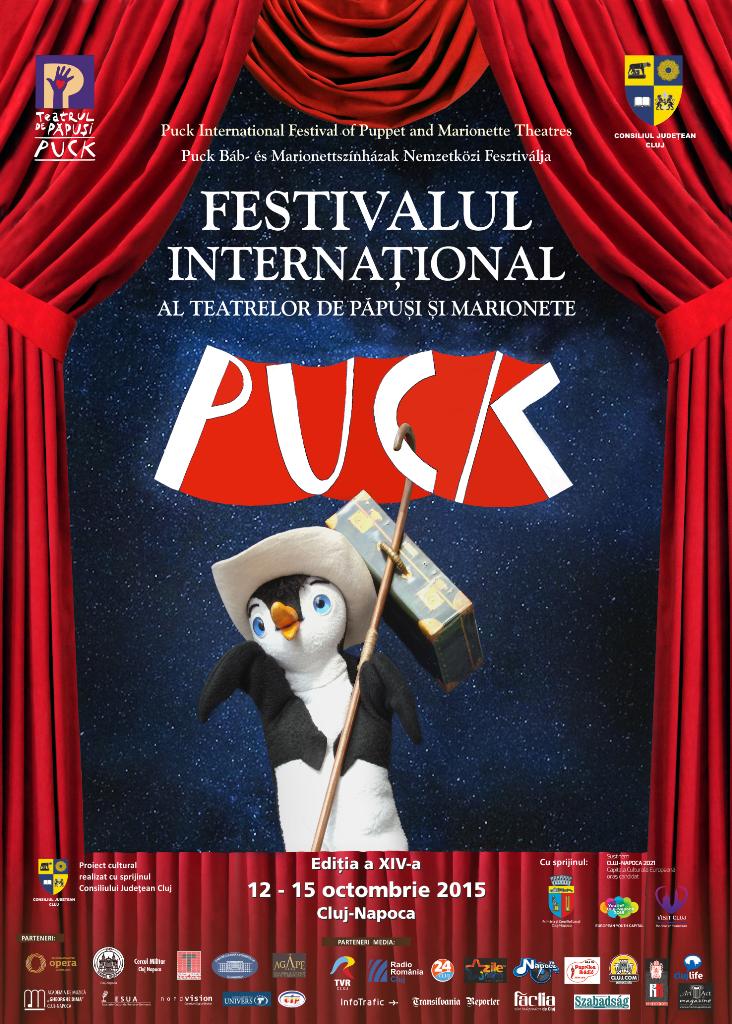 """Festivalul Internaţional al Teatrelor de Păpuşi şi Marionete """"Puck"""" @ Cluj"""