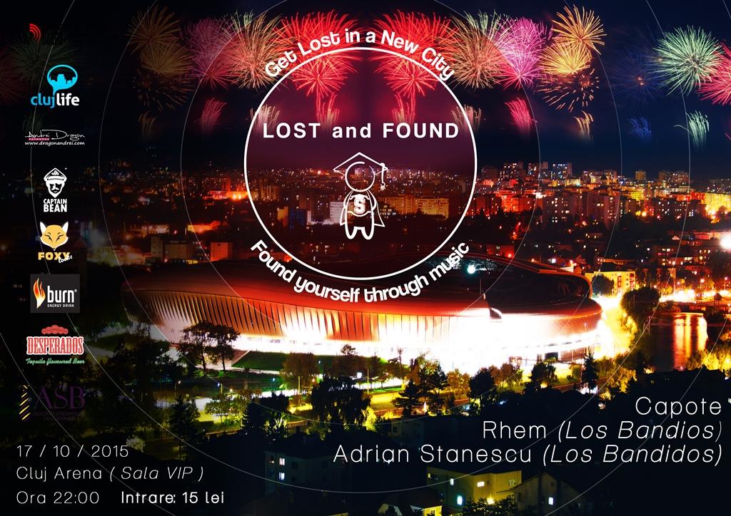 Lost & Found @ VIP Cluj Arena
