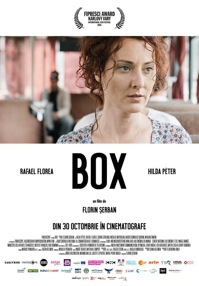 Filmul BOX, în regia lui Florin Șerban, ajunge în cinematografe
