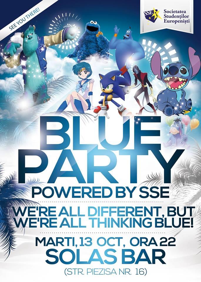 Blue Party @ Solas