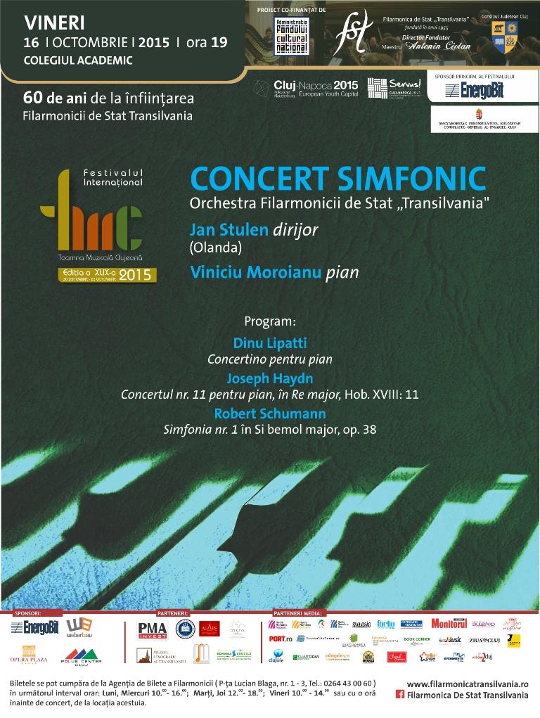 Concert simfonic @ Colegiul Academic