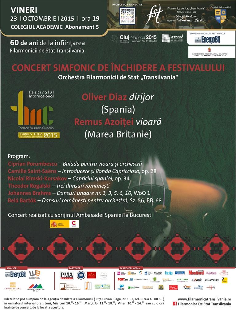 Concert Simfonic de Închidere TMC @ Colegiul Academic