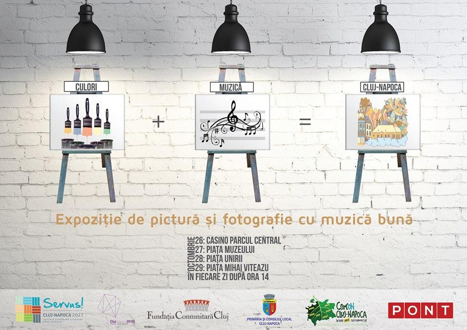 Culori + Muzică = Cluj