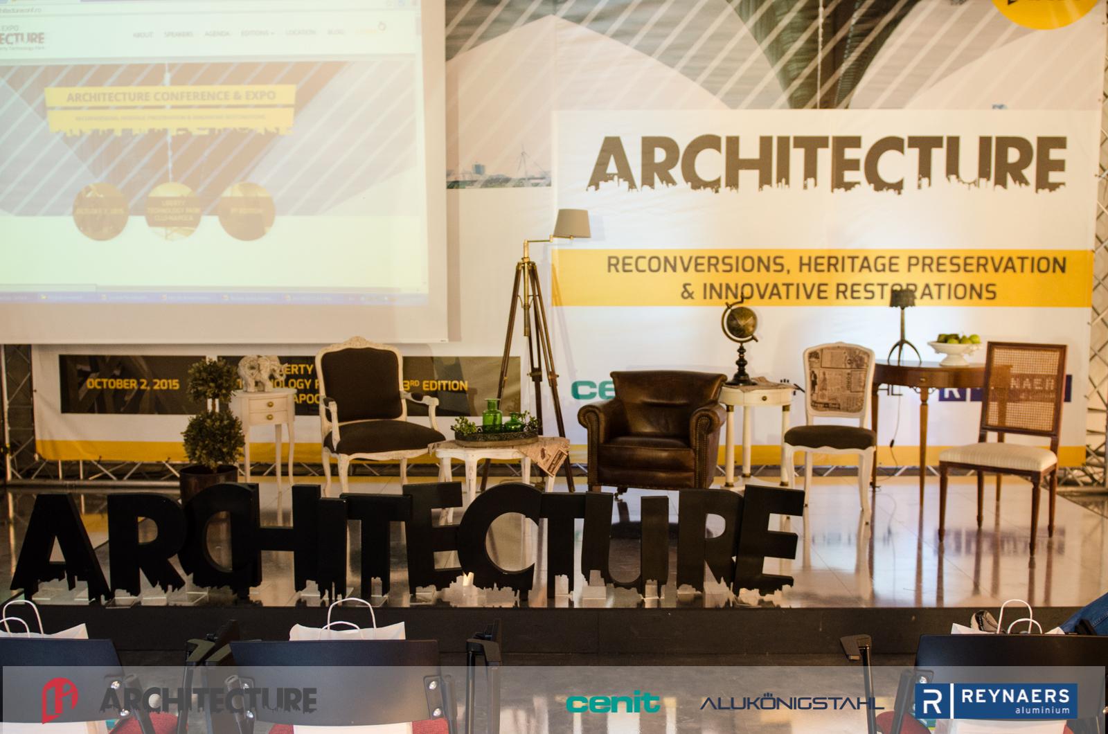 Architecture Conference&Expo a reunit peste 300 de arhitecți din România