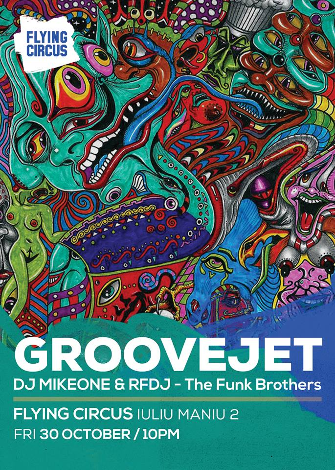 Groovejet @ Flying Circus Pub