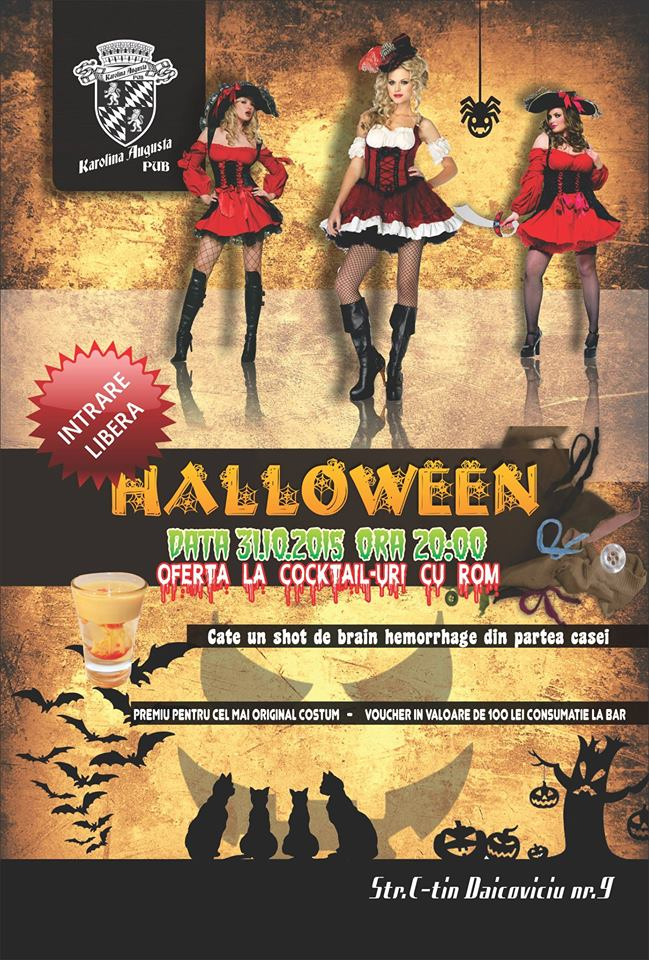 Halloween Party @ Karolina Pub & Terrace
