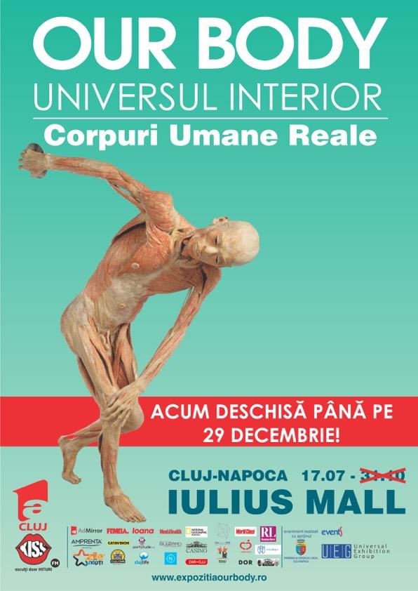 """Expoziția """"Our Body: Universul Interior"""" se prelungește"""