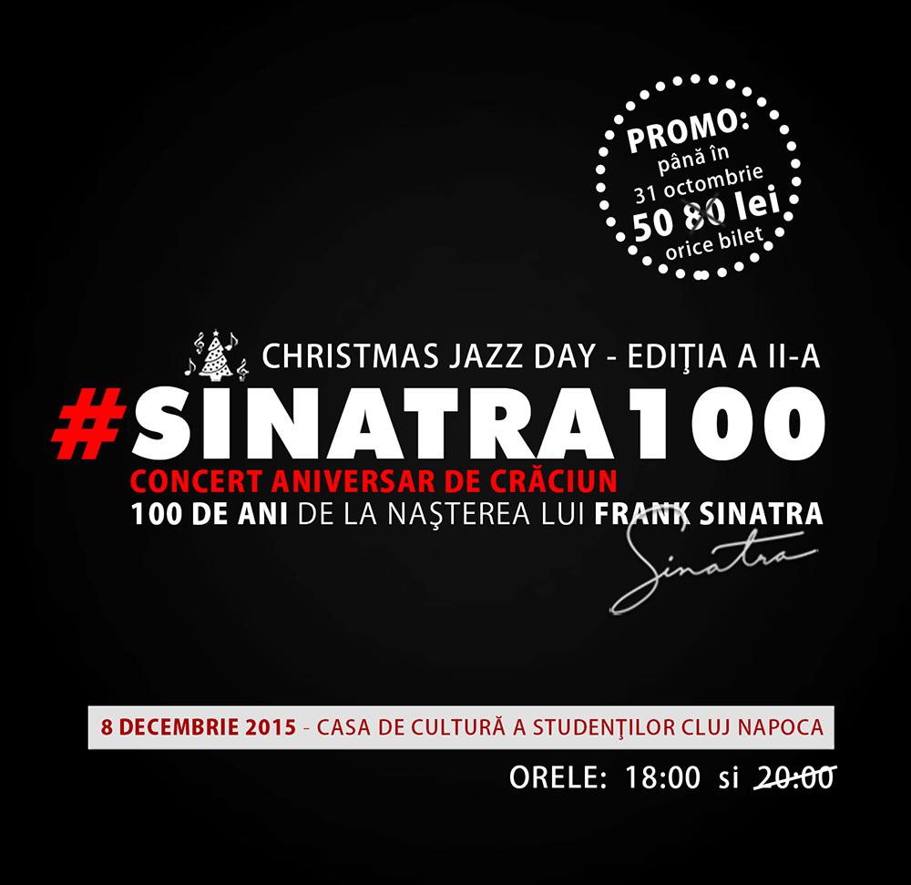 #SINATRA100, sold-out cu două luni înainte de eveniment
