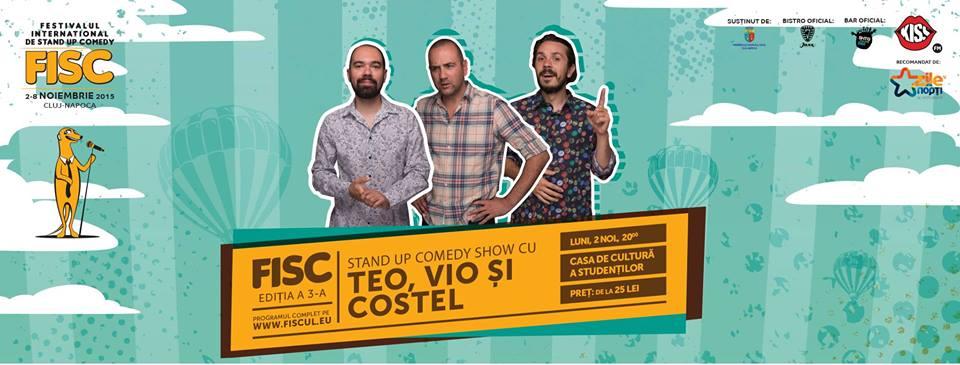 Teo, Vio și Costel @ FISC