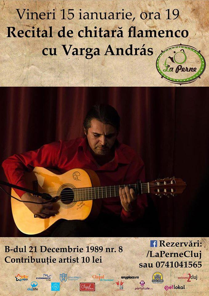 Recital Varga András @ La Perne