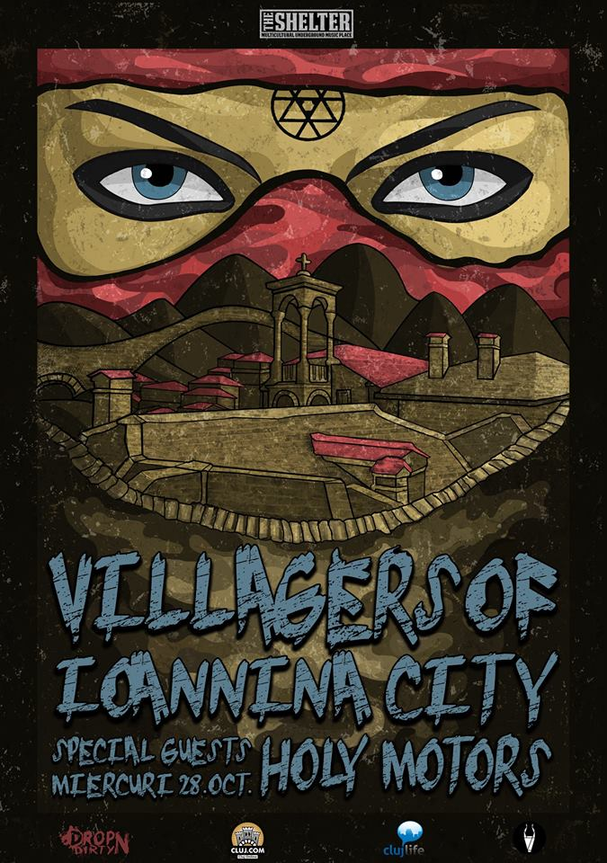 Villagers of Ioannina City & Holy Motors @ The Shelter