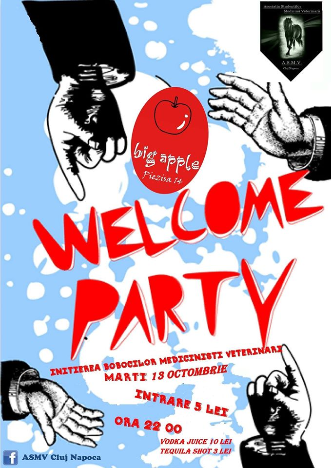 Welcome Party @ Big Apple